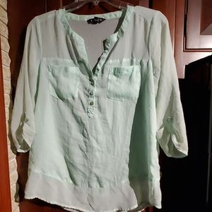 Seagreen Free flowing blouse